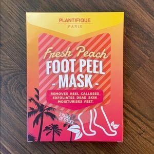 Fresh Peach Foot Mask
